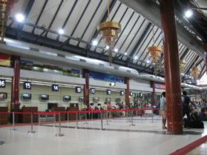 シェムリアップ国際空港 ロビー